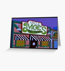 Uncle Moe's Family Feedbag Greeting Card