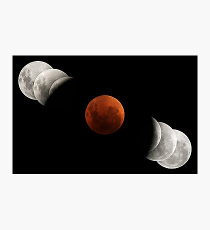 2007 Lunar Eclipse Photographic Print