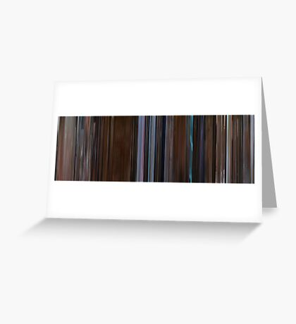Moviebarcode: Psycho (1998) Greeting Card