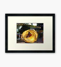 Swirling Dancer Framed Print