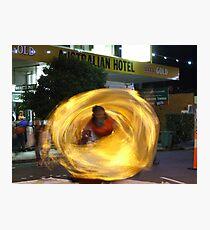Swirling Dancer Photographic Print