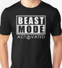 Beast Mode Gym Bodybuilding Sport Motivation Unisex T-Shirt