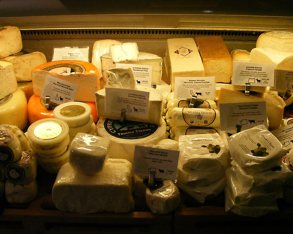 Cheese by Susan Glaser