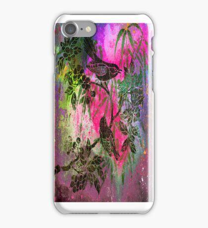 BIRDS ON THE TREE. iPhone Case/Skin