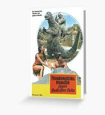 Frankensteins Monster Grußkarte