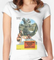 Frankensteins Monster Women's Fitted Scoop T-Shirt
