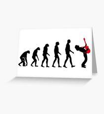 Tarjeta de felicitación Evolución de la roca