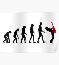 Rock Evolution Poster