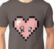 """""""Love in 8-bit"""": Jeff and Annie (Style D) Unisex T-Shirt"""