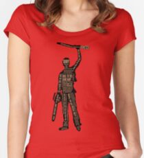 Army Of Darkness Ash Quotes Women's Fitted Scoop T-Shirt