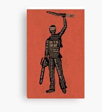 Army Of Darkness Ash Quotes Canvas Print
