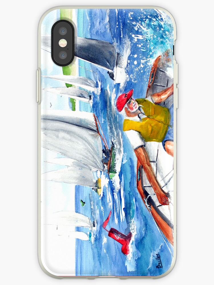 The Artist Leads The Pack - IPhone Case by Rob Beilby