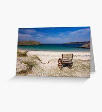 Achmelvich Beach Greeting Card