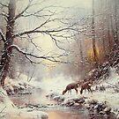 A Warm Glow of Winter by JoeHush