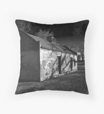Slave Quarters - Melrose Plantation  Throw Pillow