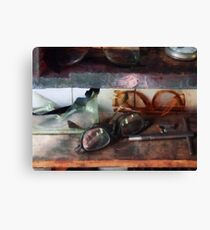 Safety Glasses Canvas Print