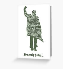 The Breakfast Club - Sincerely Yours Greeting Card