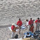 Enjoying Massage and Music at the Beach - Disfrutando Masaje y Musica en La Playa by PtoVallartaMex