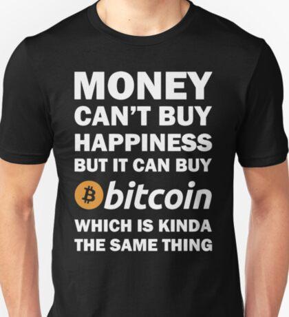 Bitcoin Happy Money T Shirt