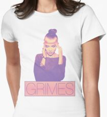 GRIMES Womens Fitted T-Shirt