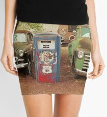 Route 66 - Snow Cap Drive-In Mini Skirt
