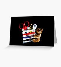 Threadbear - for Jan Timmons Greeting Card