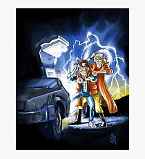 BTTF 2015 Mashup Photographic Print