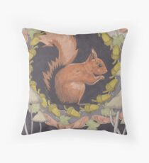 Empty Plate Throw Pillow