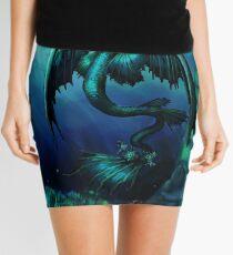 Leviathan Undersea Dragon Mini Skirt