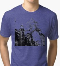 flying buttress Tri-blend T-Shirt