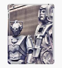 Cybermen - old and new iPad Case/Skin