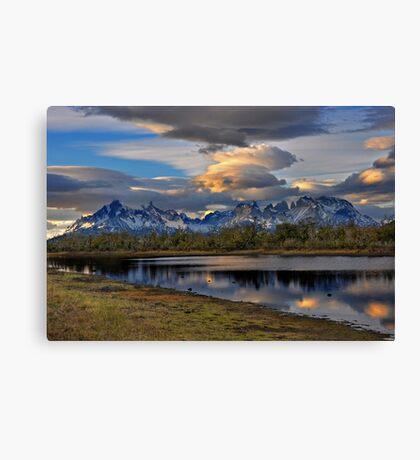 Torres Peaks Canvas Print
