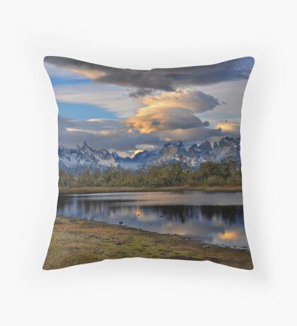 Torres Peaks Throw Pillow