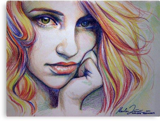 CrayolaGron (print) by marlene freimanis