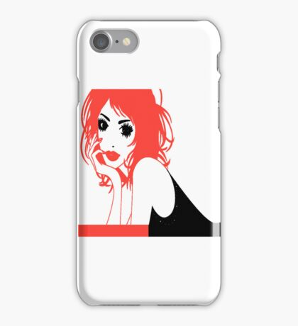 RED HAIR. iPhone Case/Skin