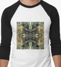 Camiseta ¾ bicolor para hombre Serie de Nueva York