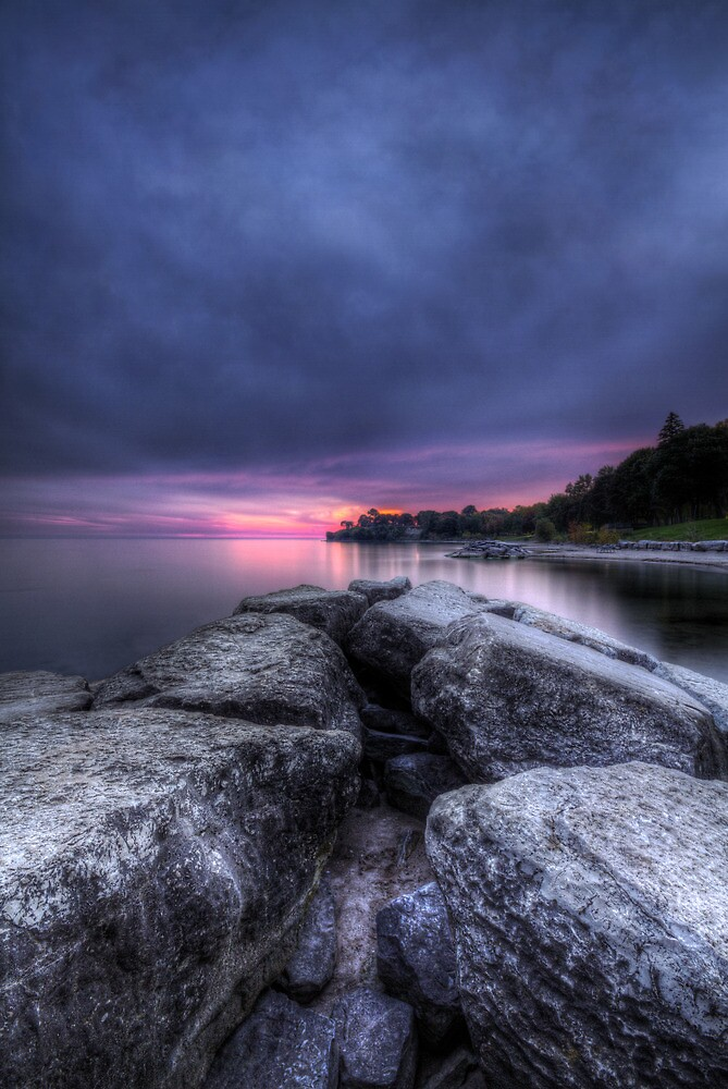 Oshawa Sunset by MarcRadford