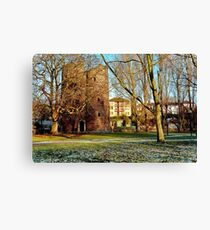 Cow Tower Norwich Canvas Print