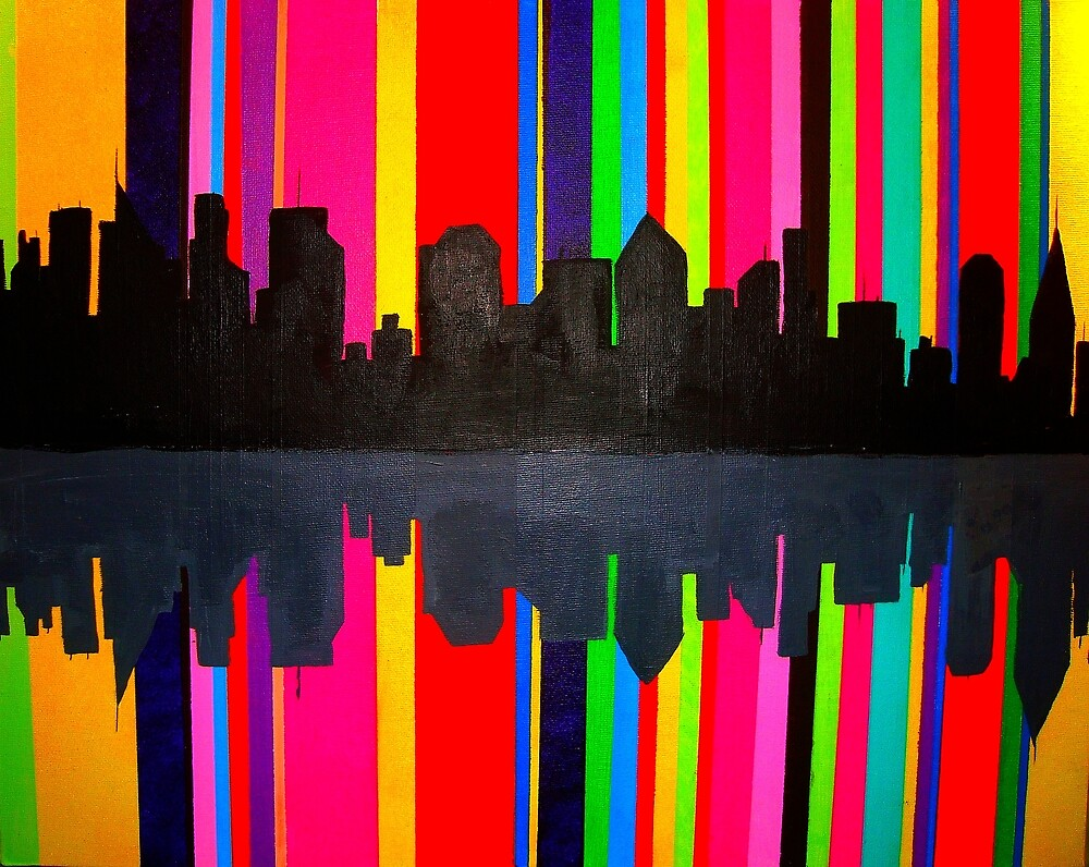 Rainbow City by Christina Darcy