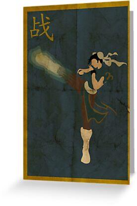 FIGHT: Chun Li by caseyjennings