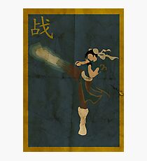 FIGHT: Chun Li Photographic Print
