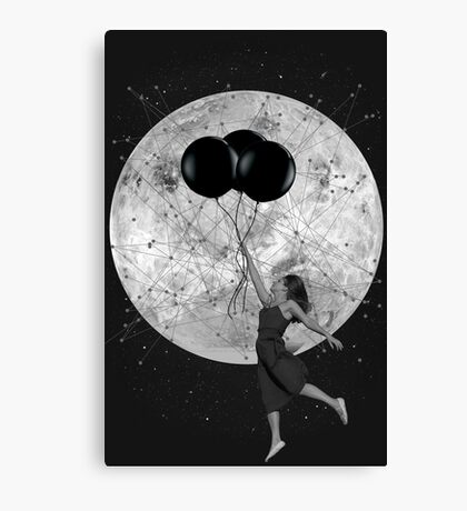 Black and White Collection -- Women Are From Venus Canvas Print