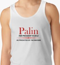 Palin For President 2012 Tank Top