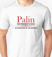 Palin For President 2012 T-Shirt