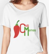 Chilli Memes Pro Logo Women's Relaxed Fit T-Shirt