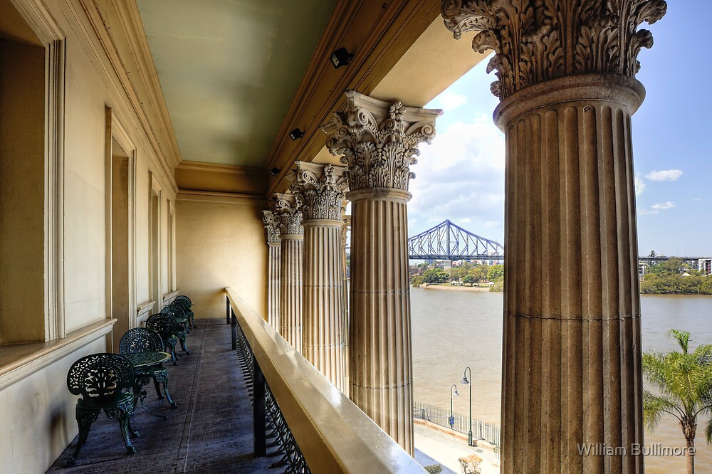 The View from Customs House • Brisbane • Queensland by William Bullimore