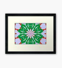 Green For Christmas Framed Print
