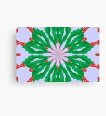 Green For Christmas Canvas Print