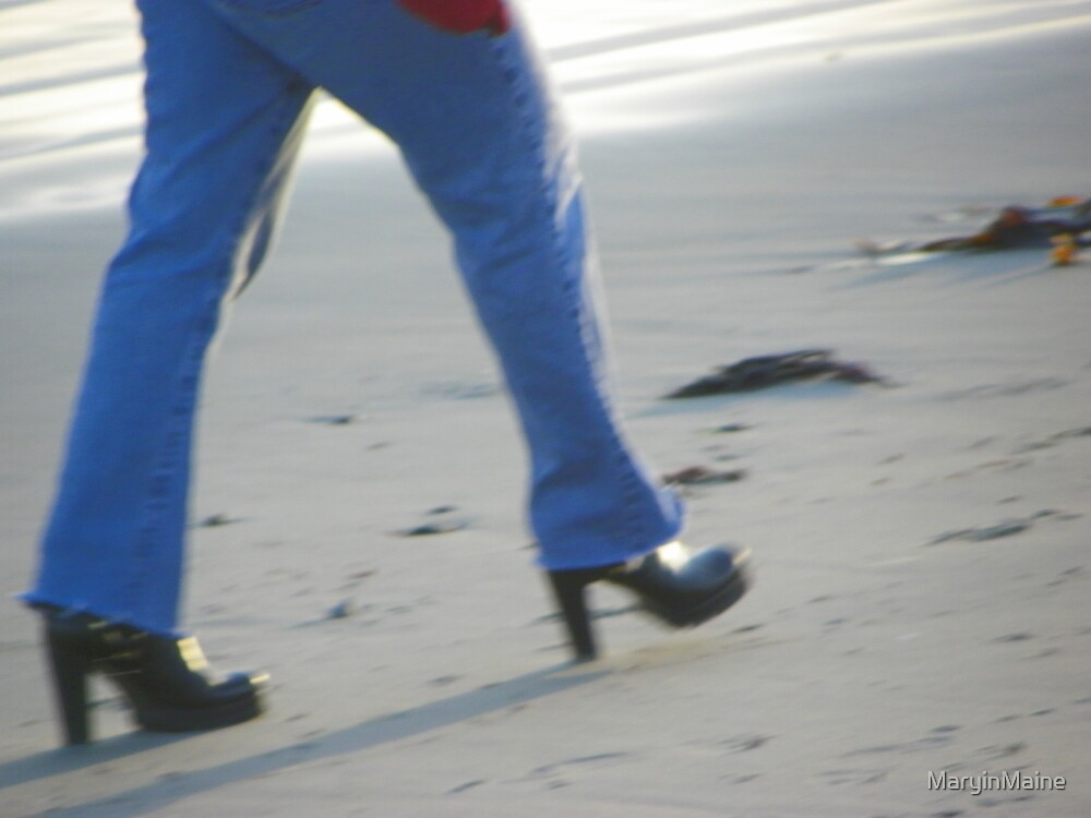 Beach Shoes? by MaryinMaine