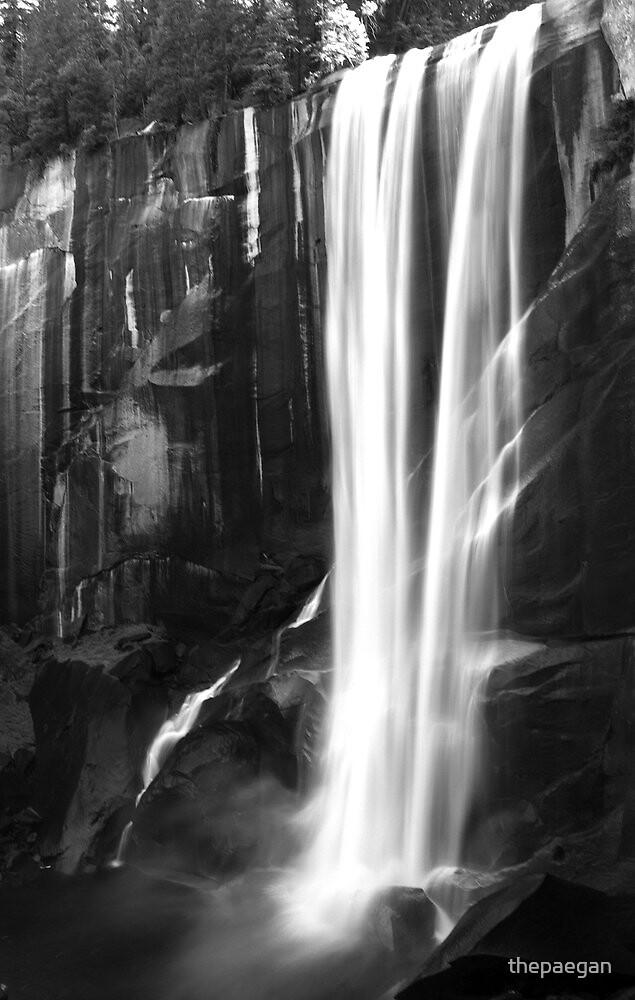 vernal falls by thepaegan